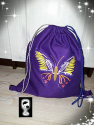 backpack butterfly by GothicVampir