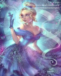 Cinderella | Speedpaint by RaidesArt