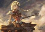 Warrior   Astrid by RaidesArt