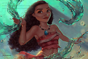 Moana by RaidesArt