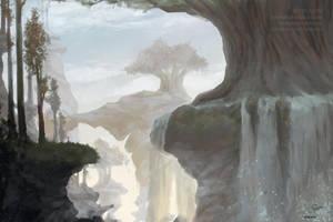 Landscape Practice by RaidesArt
