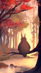 Totoro by RaidesArt