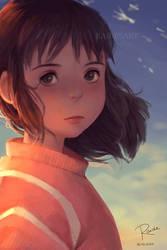 Chihiro by RaidesArt