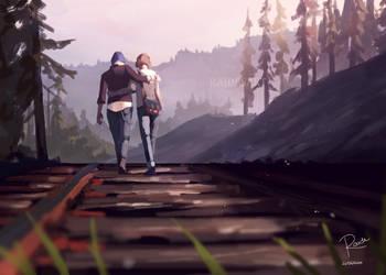 Train Tracks by RaidesArt