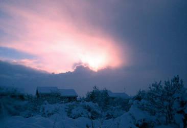 Winter Glen by Cybopath