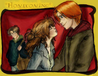 Homecoming Ron-color by louloudia1983