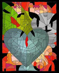 Kiss Fella Valentine by louloudia1983