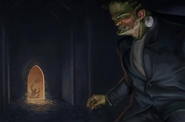 Frankenstein's Monster by Davy-Art