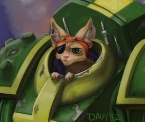 DF Fight Three: NEX (CloseUP) by Davy-Art