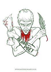 Blood of a Poet (white) by Davy-Art