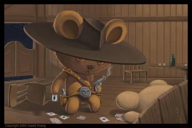 Jelly Bean Bear Bandito by Davy-Art