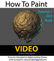 How To Paint Rock or Dirt by JesusAConde