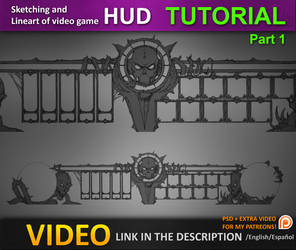 Creating a Video Game HUD tutorial by JesusAConde