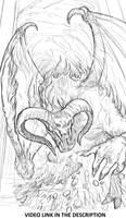 The Balrog , lord of the rings by JesusAConde