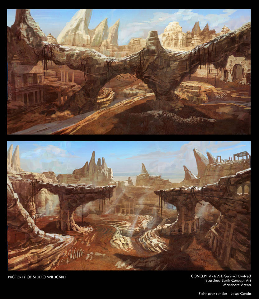 Manticore Arena for Ark Survival Evolved by JesusAConde