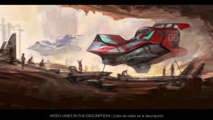 Racing ship Vogancy A7 by JesusAConde