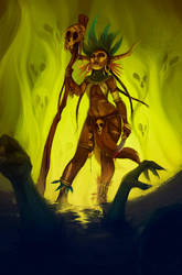 Witch Doctor by sab-m