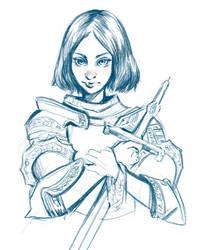 Joan of Arc by sab-m