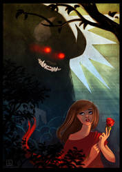 Beauty and the Beast by sab-m