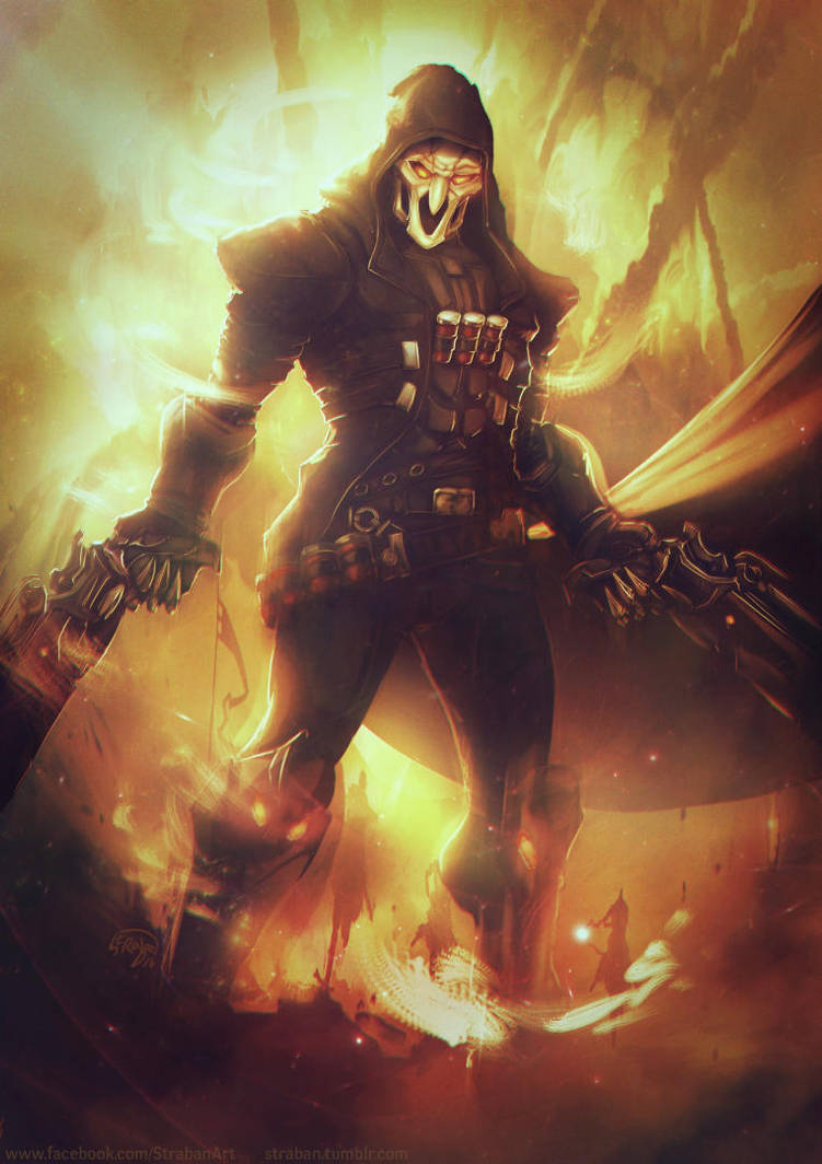 Overwatch _ REAPER by Straban
