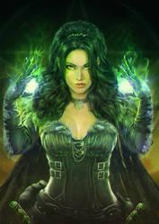 Sorceress by Straban