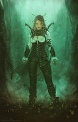 Lilith _  The Hunter by Straban