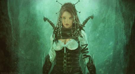 Lilith portrait _ hunter by Straban