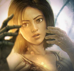 Alita: Battle Angel by Straban