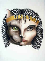 Bastet by lady-Snow95