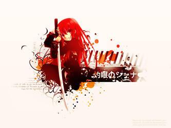 Shana of the Burning Eyes WP by Jun-Sasaki
