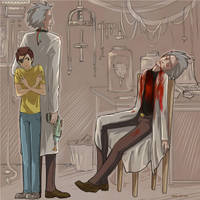 3. evil!Morty and evil!Rick by Vera-Ist-44