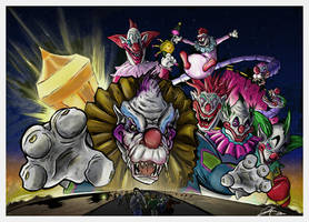 Killer Klowns concept poster by gfan2332