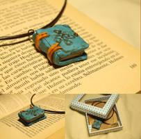 Book Pendant by Nabila1790