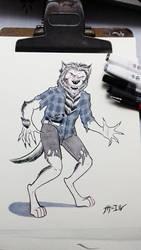 Day1 - Classic Werewolf by KingXolotl