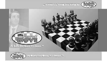 Kasparov's Move Box Art by DCJaxDesign