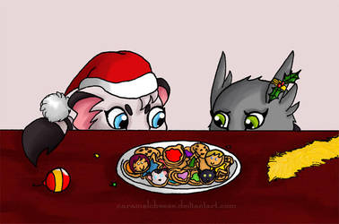 Reboot - Christmas Cookies by CaramelCheese