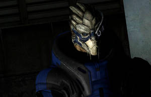 Garrus Vakarian stands there like a boss by LordHayabusa357
