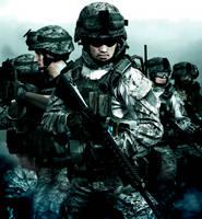 Marine Squad Bravo by LordHayabusa357