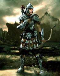 Imperial Legion Female Soldier by LordHayabusa357