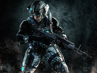 UNSC Army Soldier 3 (Enhanced Version) by LordHayabusa357