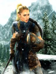 Stormcloak Female Soldier by LordHayabusa357
