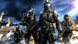 ODST Viper Squad by LordHayabusa357