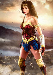Wonder Woman by LordHayabusa357