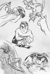 Commission|Darren+Blitzen SketchPage by mistress0minx