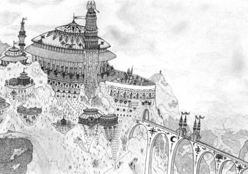 King-City of Tahran-Makal by ltdalius