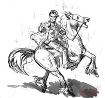 Handsome Jack and Butt Stallion by Chanrom