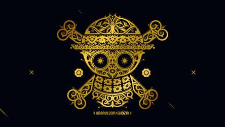 Straw Hat Dayak Kalimantan Patern by ghozai