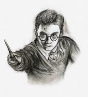 Harry Potter sketch by MakingPicsSlowly