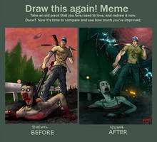 Draw this again! 2012/2014 by MakingPicsSlowly