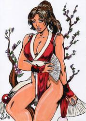 Mai Shiranui Color by BREIZH-ANKOU